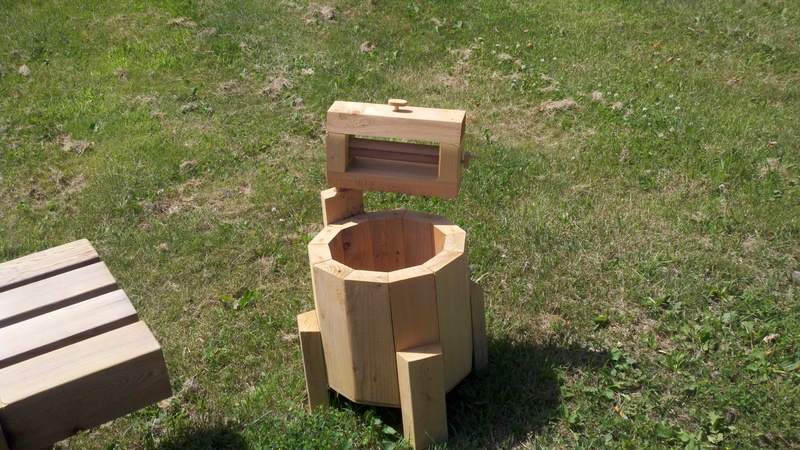 old time washer planter   $20.00