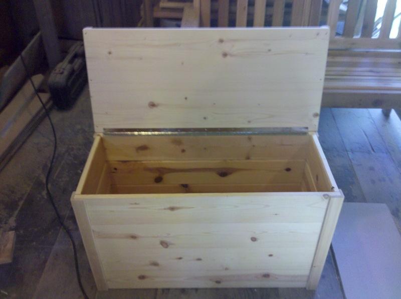 Storage Chest bench $75.00