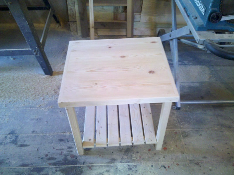 Classic end table  $20.00