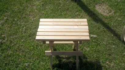 Small folding table bench  $7.00 each