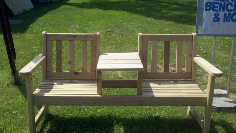 Cedar Bench    $150.00